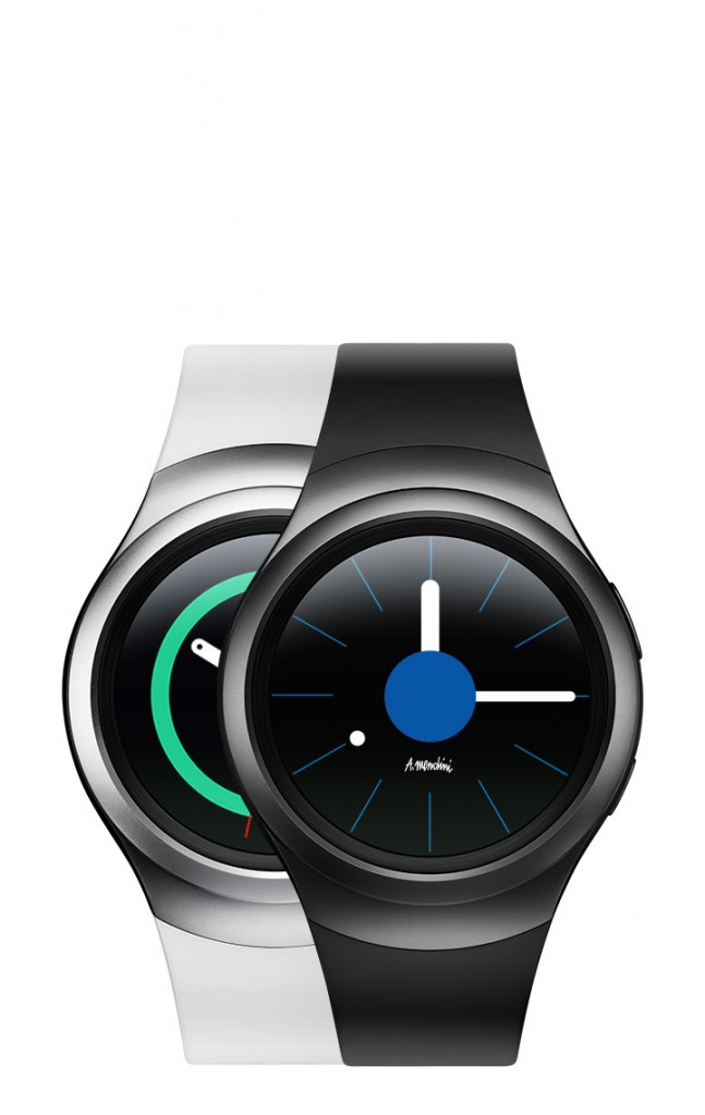 Gear S2 watch faces up close