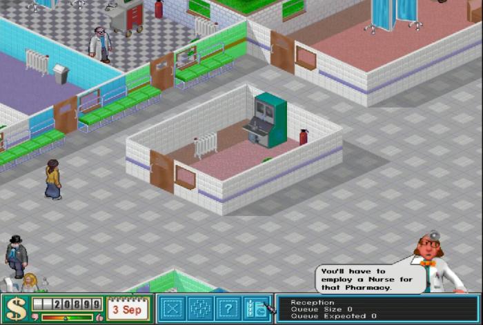 hospital theme