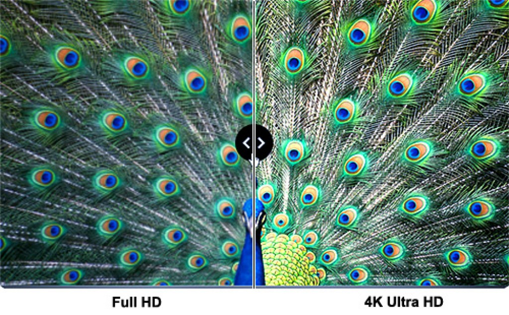 1080p vs. 4K resolution ex 5