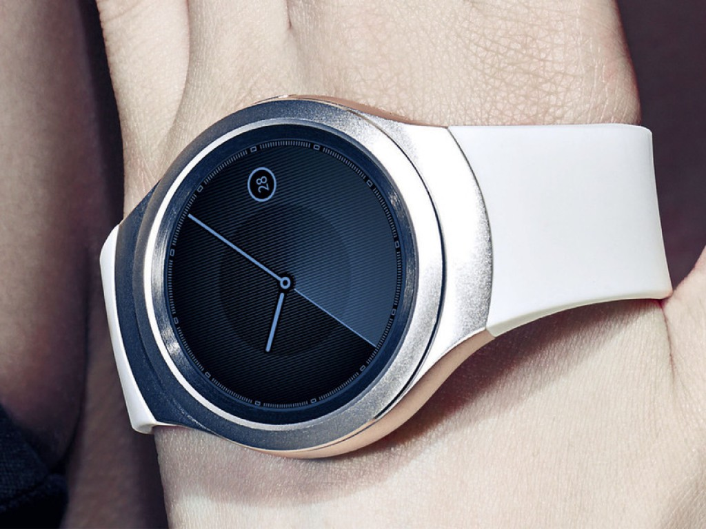 Gear S2 smartwatch in color