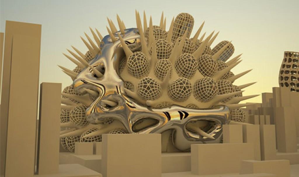 3D-Organic-structure