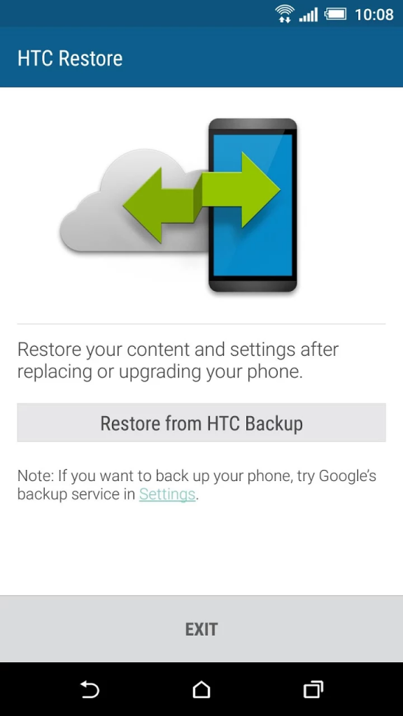 htc restore android marshmallow