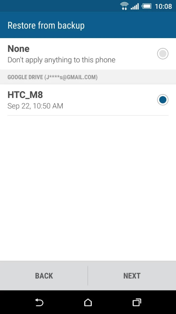 htc android marshmallow htc restore