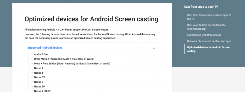 Droid Maxx 2 Google Android Screen Chromecast pae