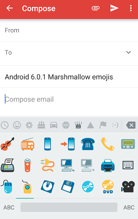 how to get emojis on Android Android 6.0.1