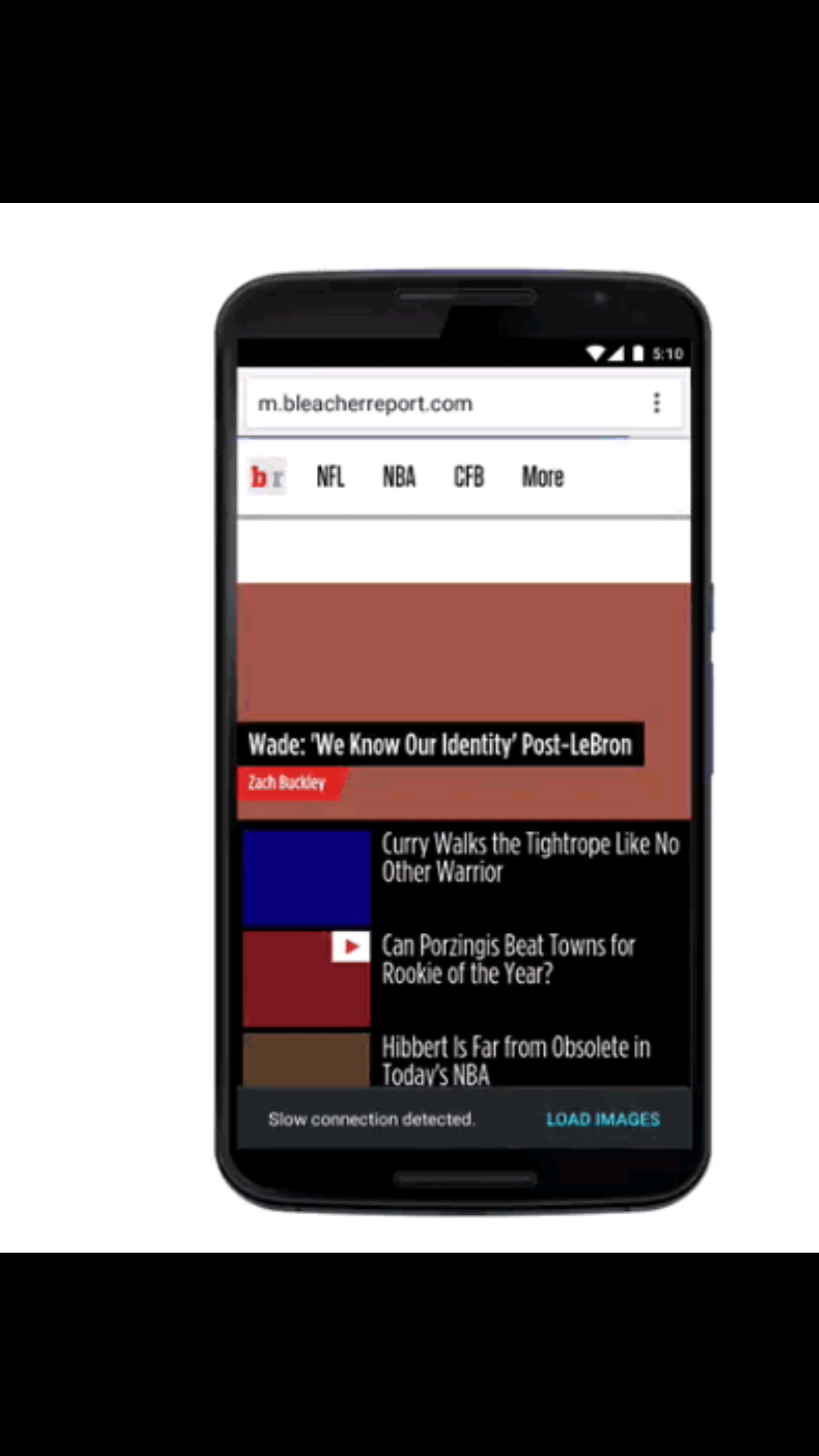 New Chrome Data Saver Mode update on Android will load text only