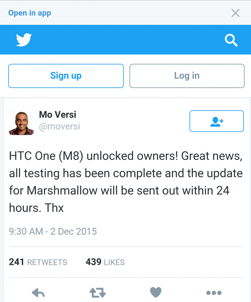 android marshmallow htc