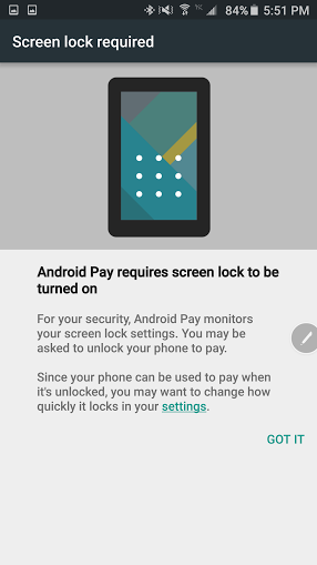 how to add a credit card or debit card to Android Pay 4