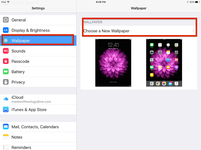 how to make wallpaper from your photos on iPhone or iPad
