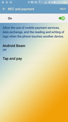 how to enable NFC on your Android smartphone 5