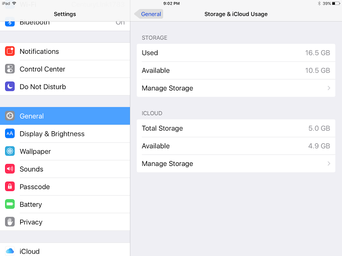 how to check iPhone or iPad storage 3