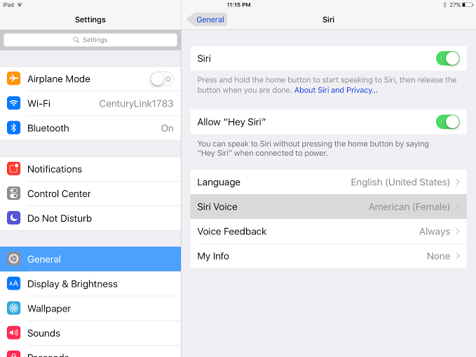 how to change Siri gender on iPhone and iPad 1