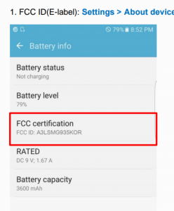 Galaxy S7 edge battery  2