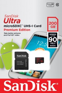 200GB microSD SanDisk