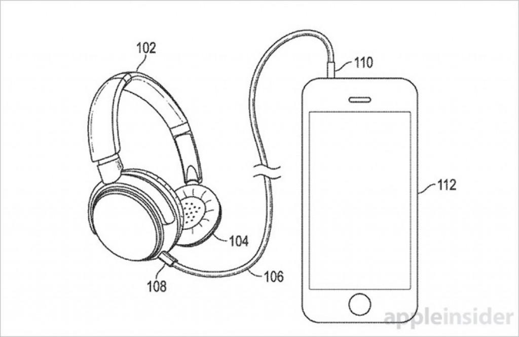 wireless headphones iPhone 7 patent 1