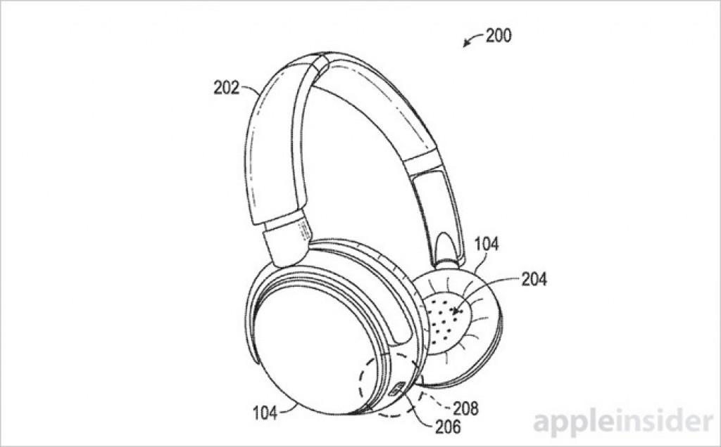 wireless headphones iPhone 7 patent 2