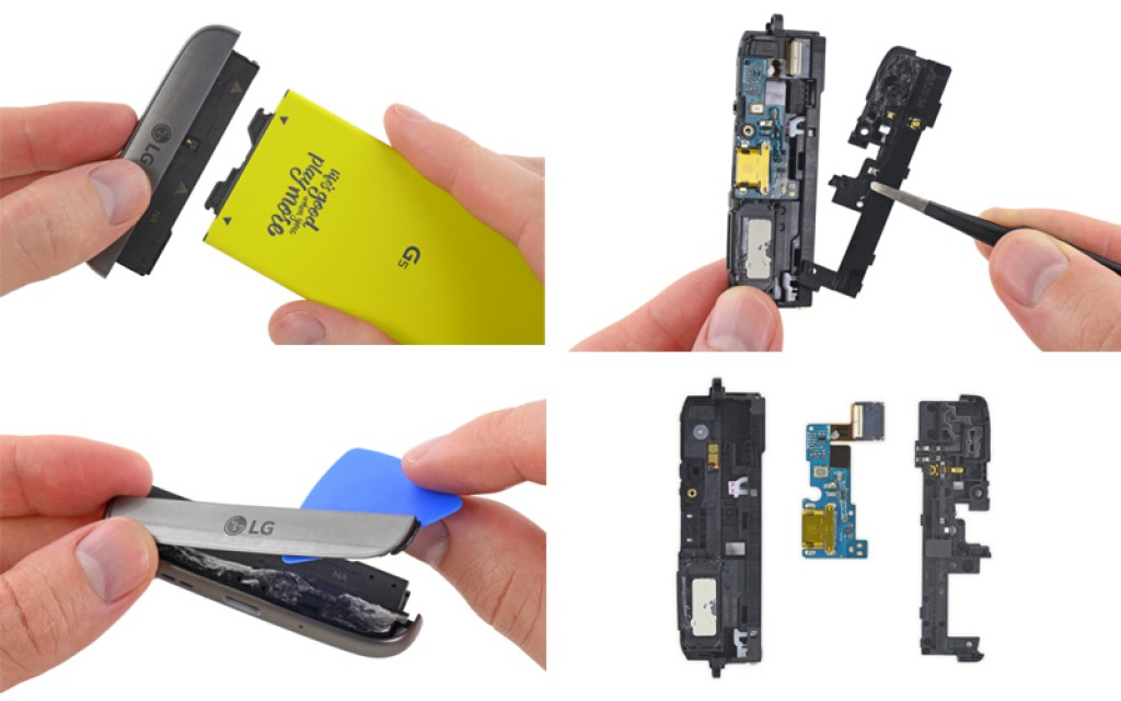 LG G5 teardown 2 ifixit