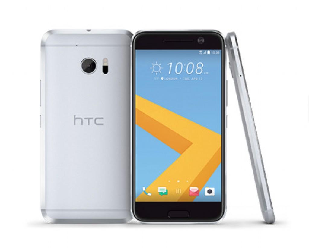 HTC white silver 2