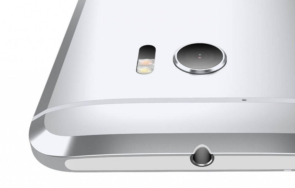 HTC 10 silver upside