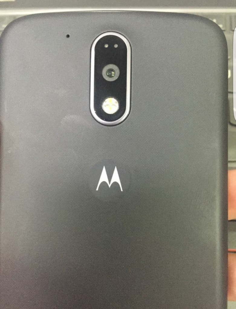 Moto G4 back cover camera