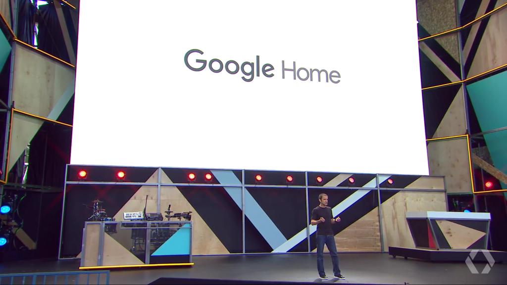 Google Home at Google IO 2016