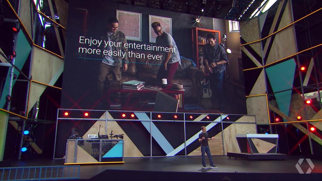 Google Home - 6 at Google IO 2016