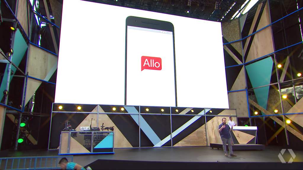 Google Allo at Google IO 2016