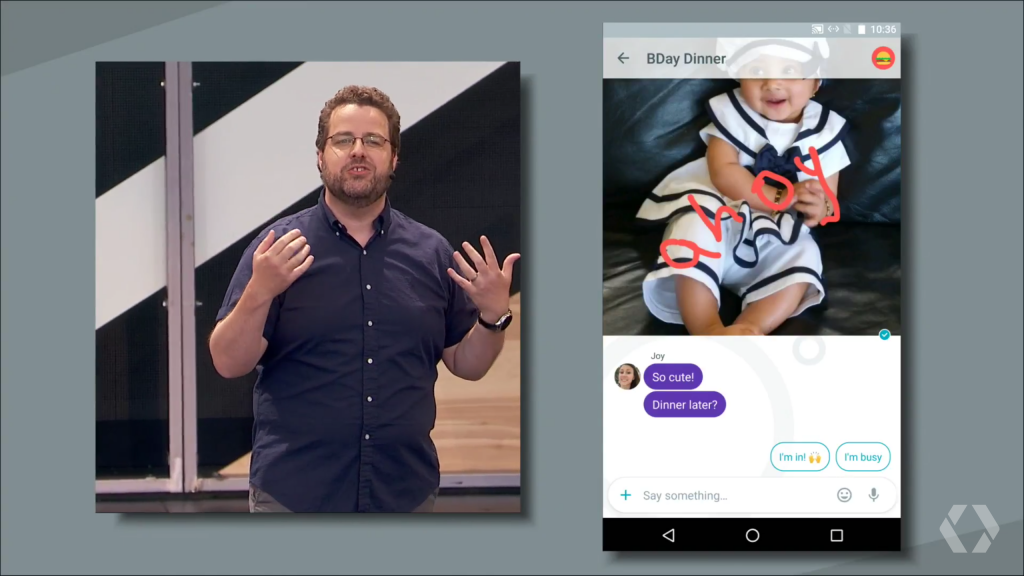 Google Allo - 4 at Google IO 2016