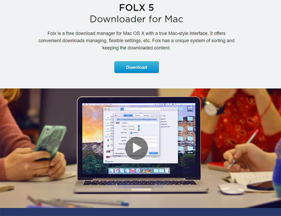 Folx 5 Download Manager for Mac Review - AptGadget com