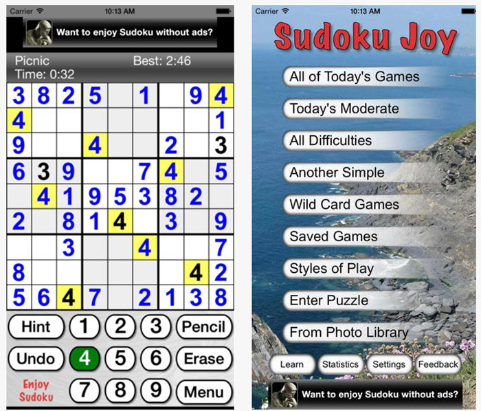 Best Sudoku Apps - AptGadget com