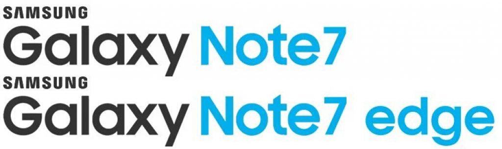 fake Galaxy Note 7 edge logo