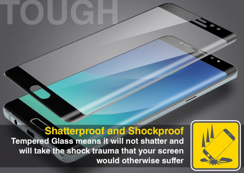 Galaxy Note 7 screen protector Olixar