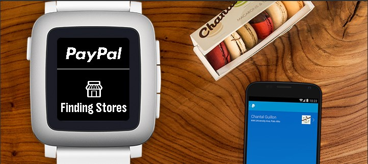 PayPal for Pebble