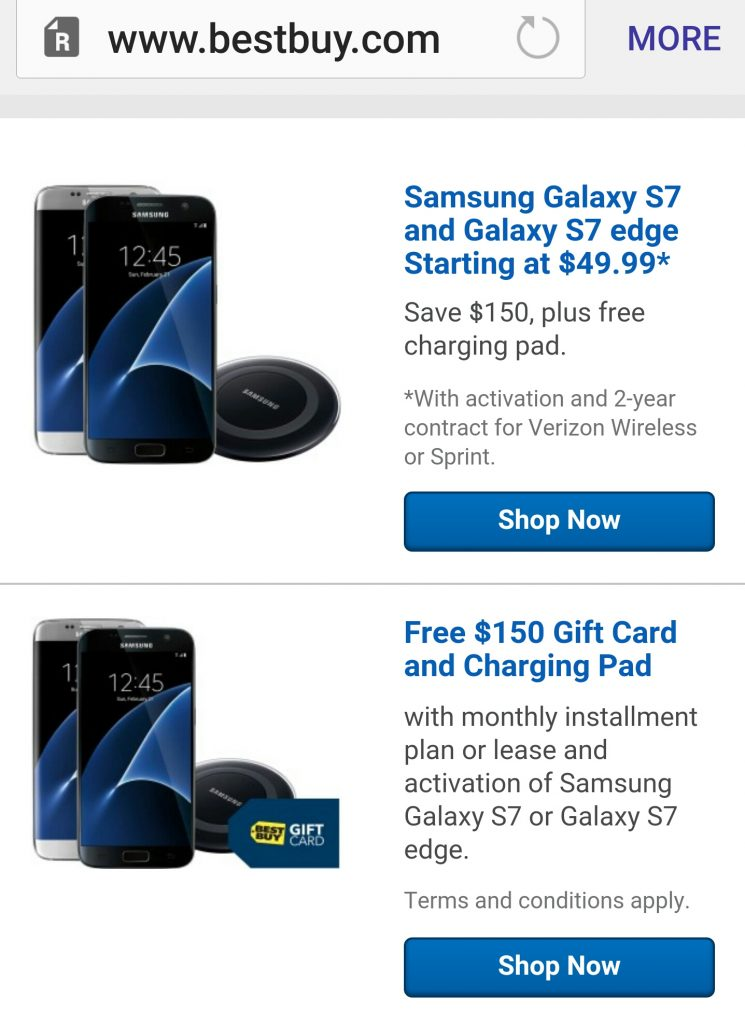 Galaxy S7 fourth of July deal Best Buy