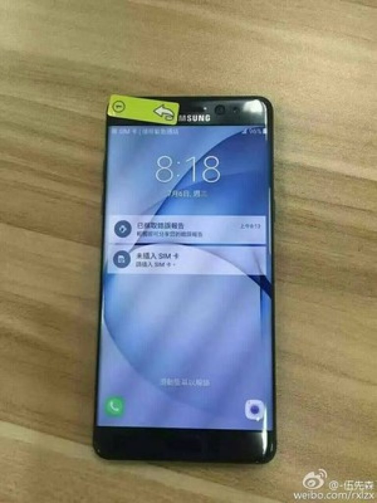 waterproof galaxy note 7 chassis