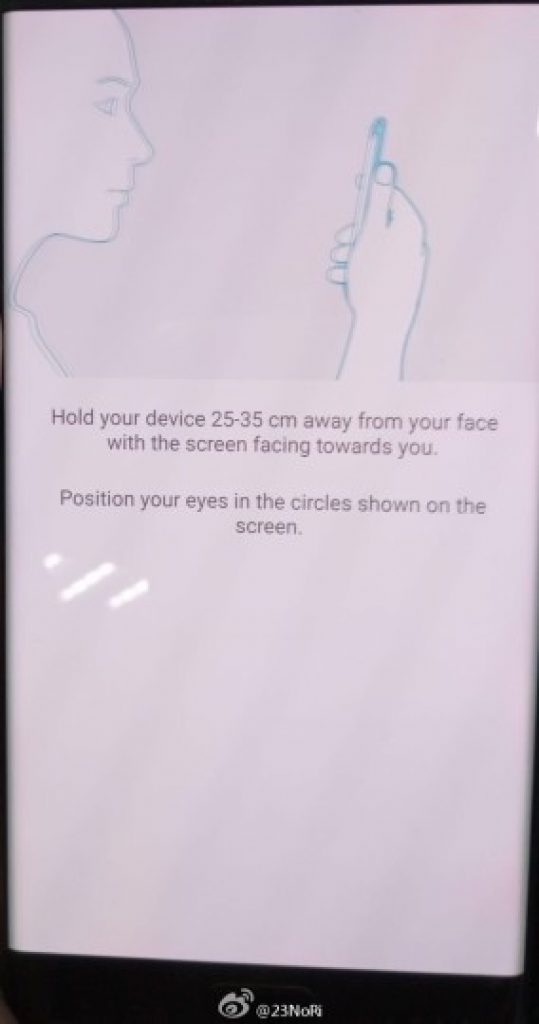 Galaxy Note 7 iris scanner 3