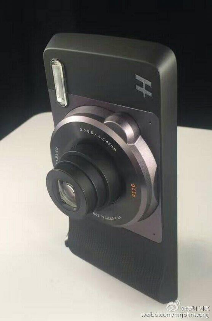 moto z camera module hasselblad