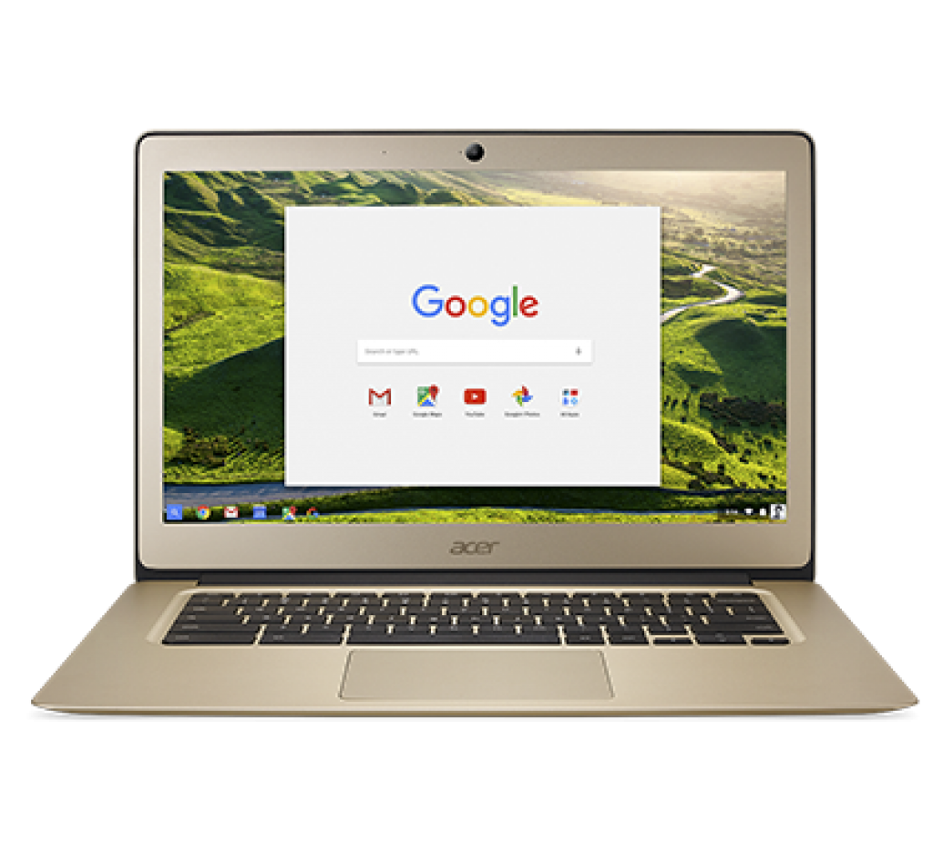 Acer Chromebook 14 gold display