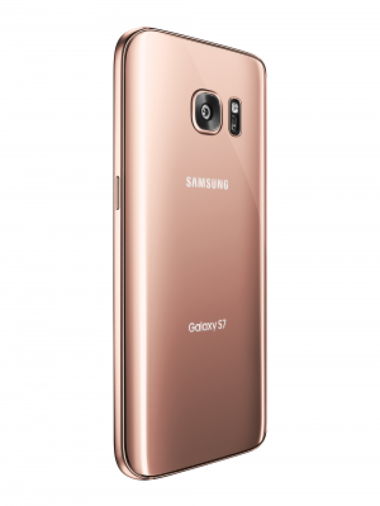 pink gold galaxy s7 back