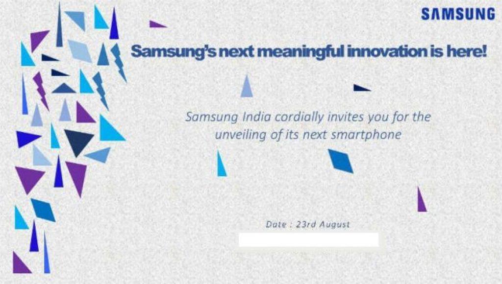 Samsung Z2 announcement invite