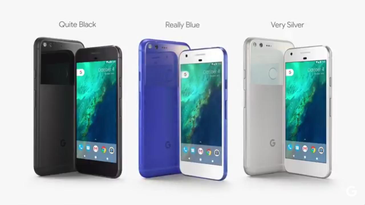 Really Blue Google Pixel color US exclusive - AptGadget.com