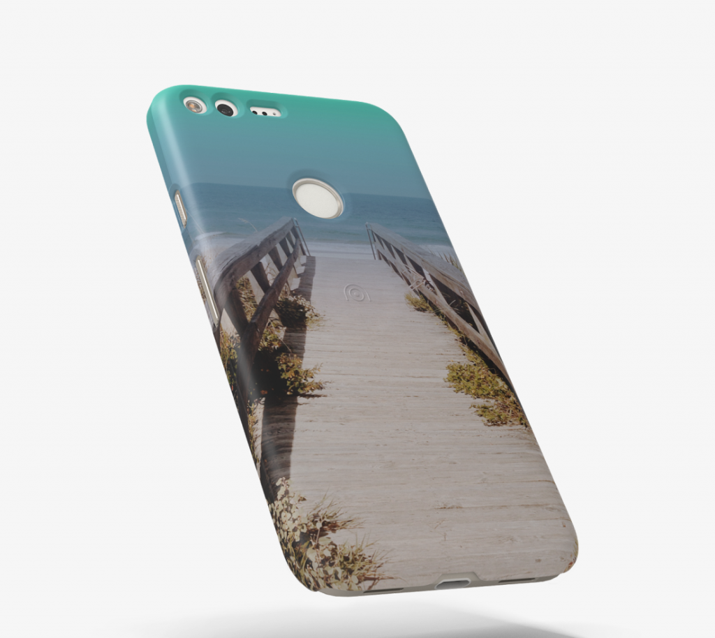 Pixel phone cases beach photo