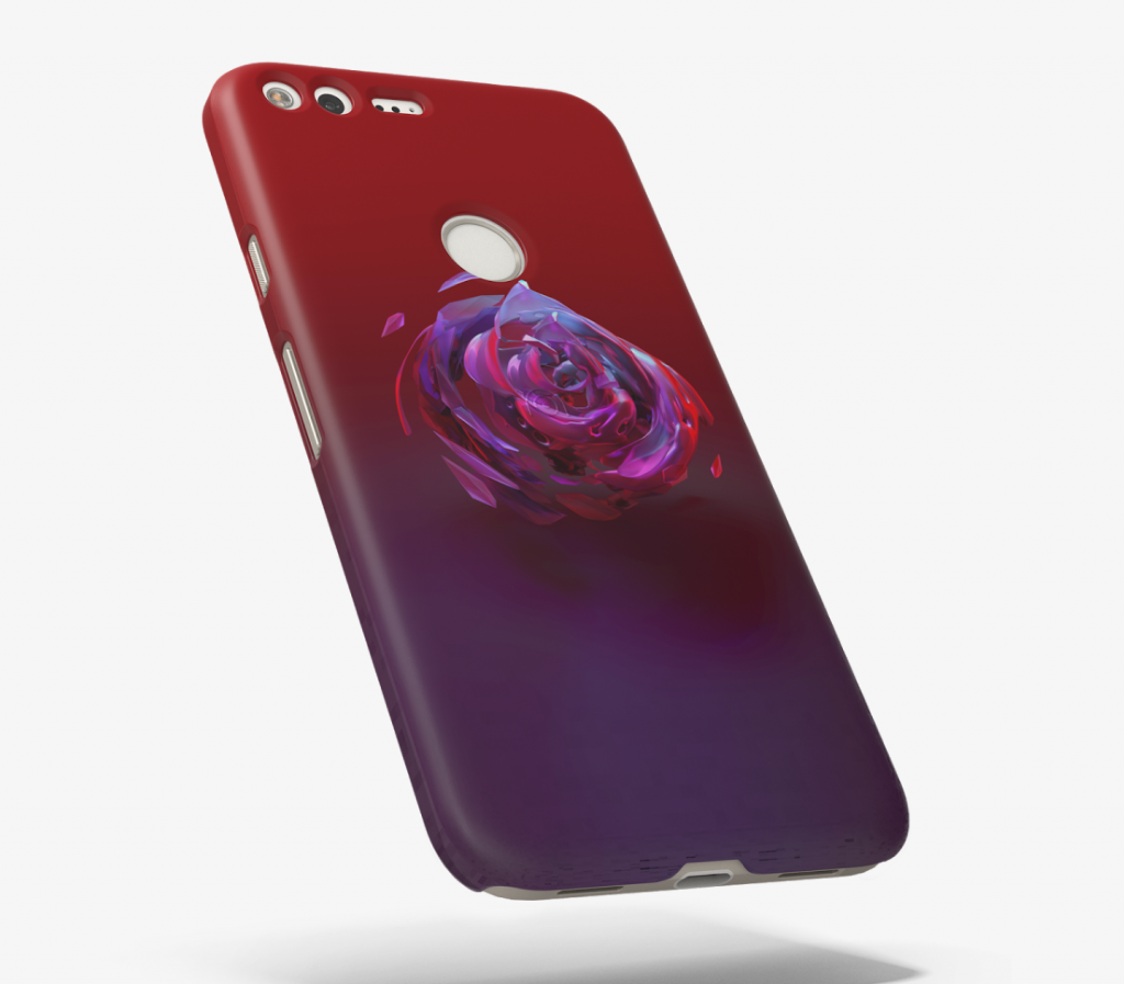 Pixel phone cases Live Cases flower