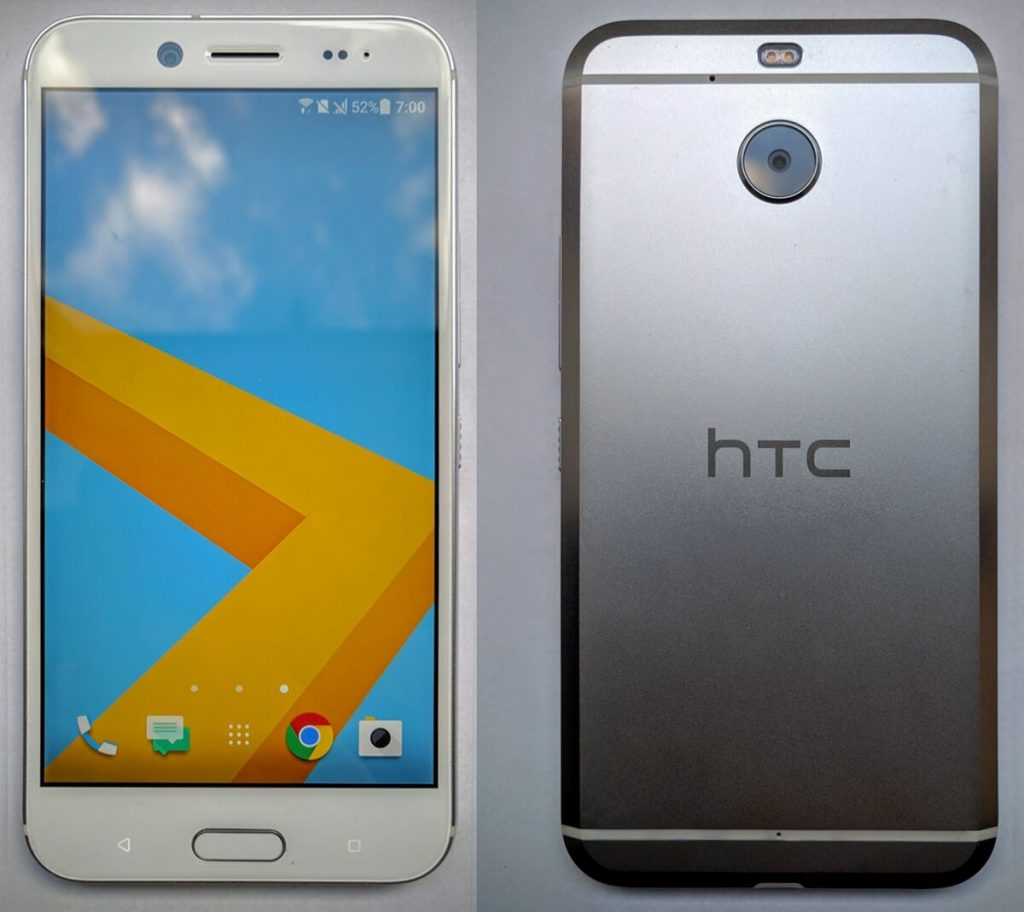 HTC Bolt front and back