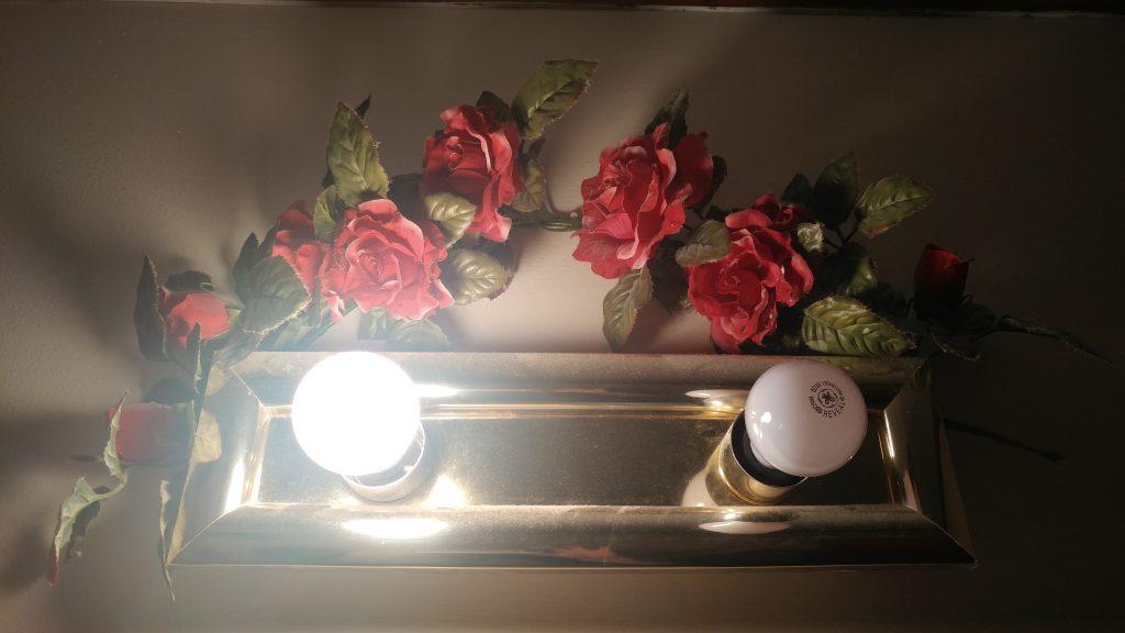 LG G5 flowers and lighting vs. S7 edge