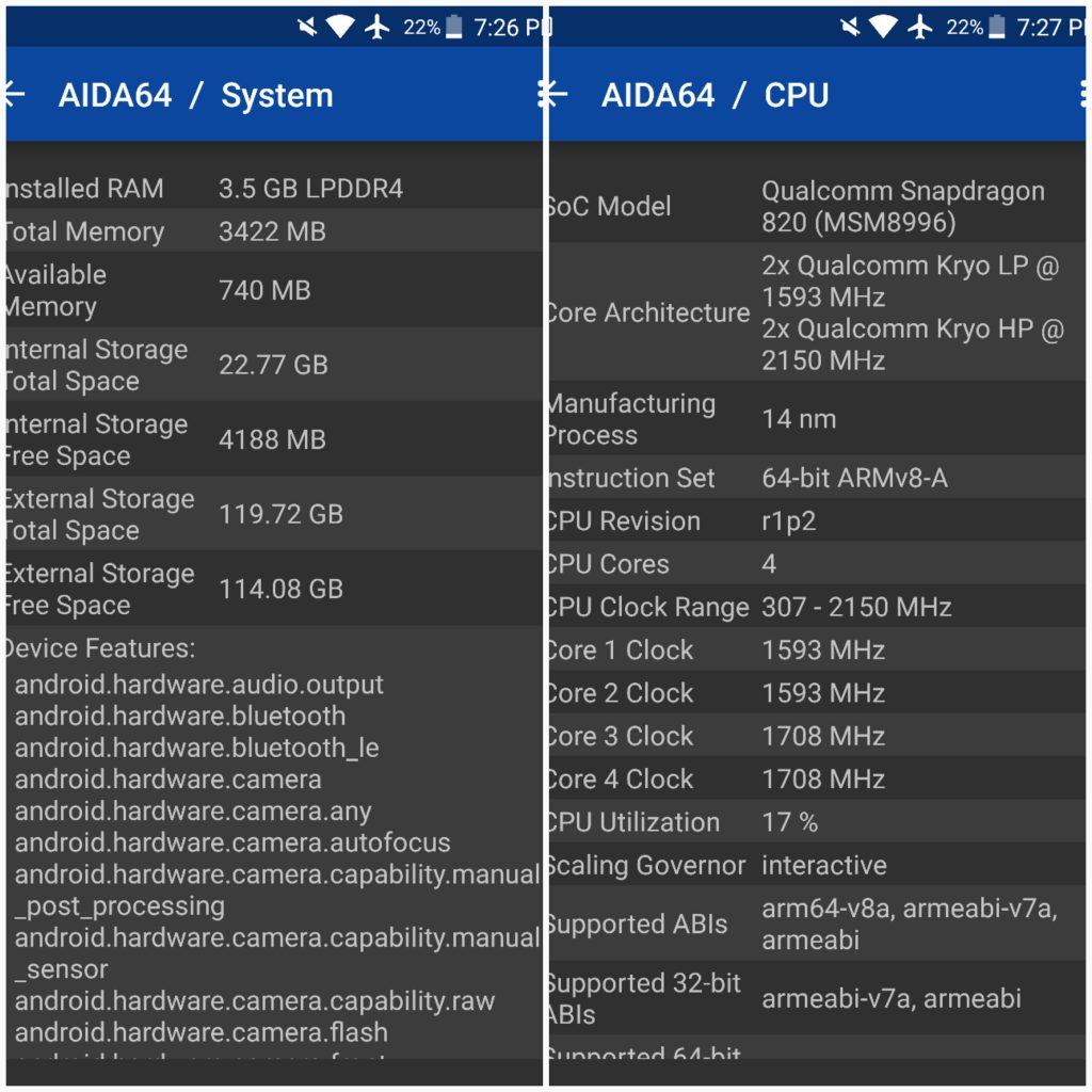 Galaxy S7 edge processor and RAM