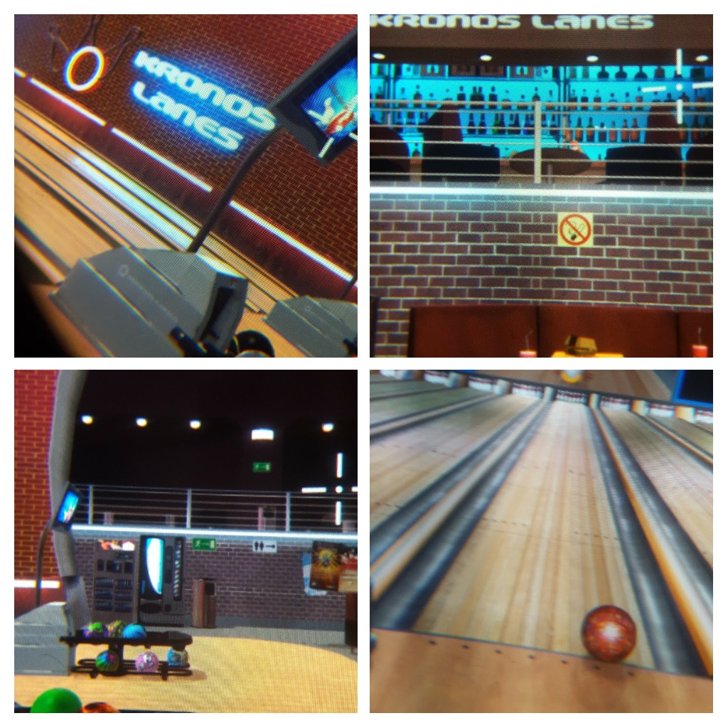 Gear VR Action Bowling collage