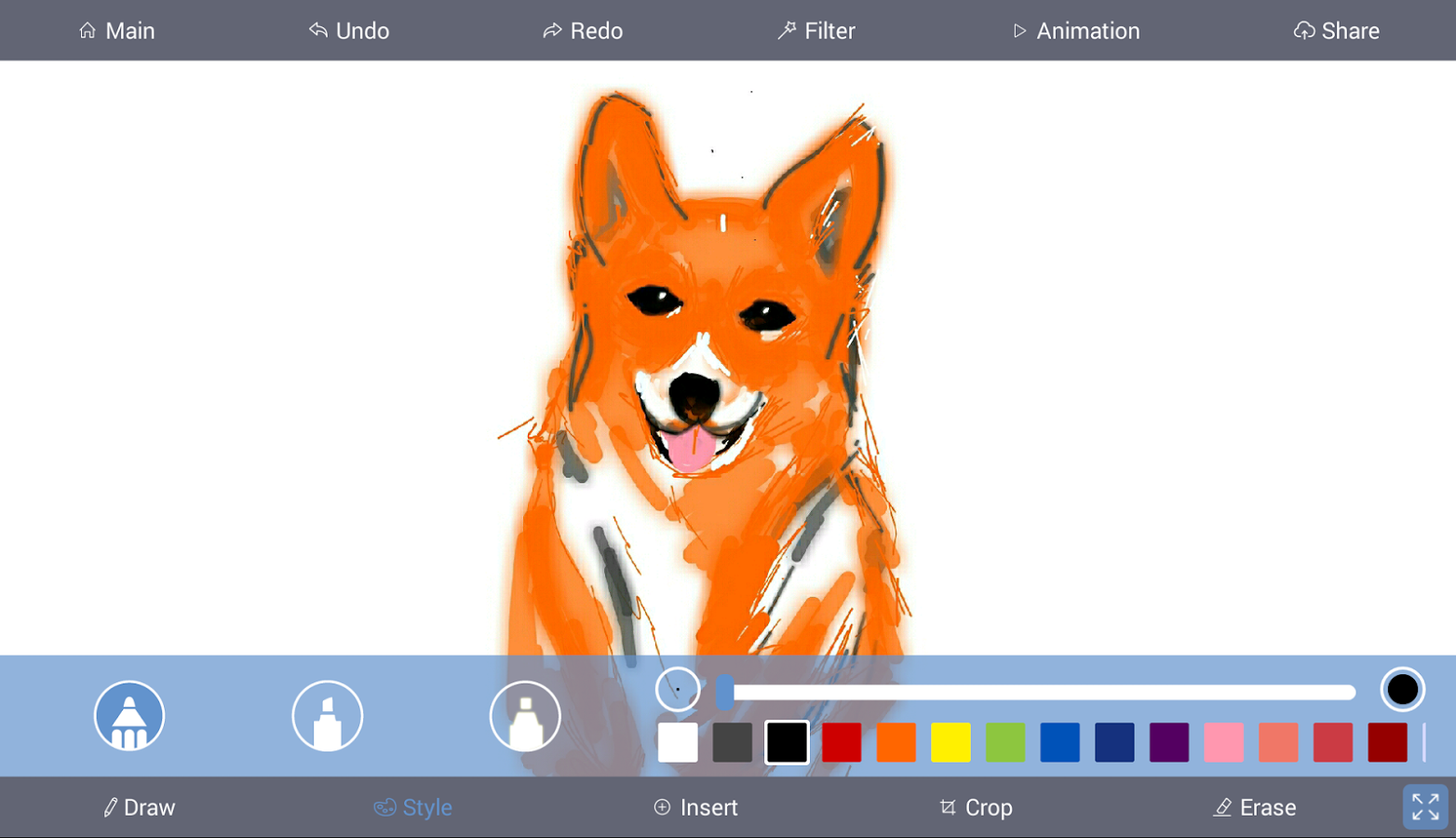 Scribble Drawing App : Best drawing apps for android aptgadget