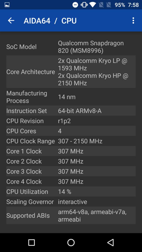 OnePlus 3 processor
