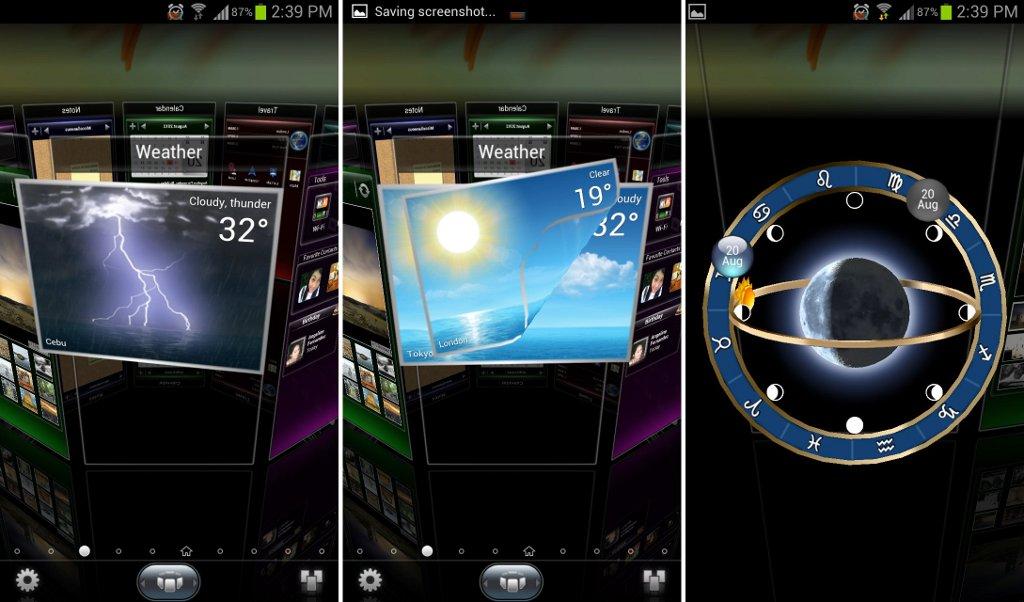 next launcher 3d shell full premium apk 2018